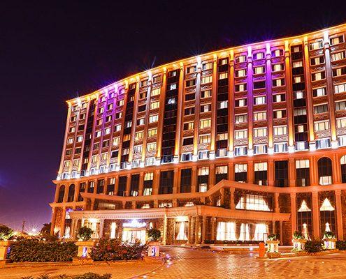 نصب شبکه هتل